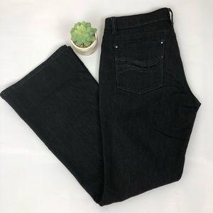 White House Black Market Flare Leg Jeans Size 8S